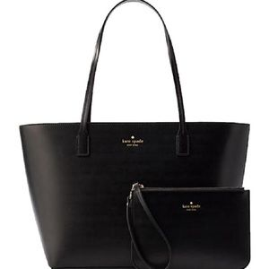 ♠️NWT Kate Spade Bennet Place Leather Tote Set♠️